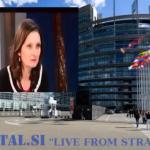 V živo iz EU parlamenta v Strasburgu september 2014