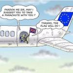 Brexit charicature