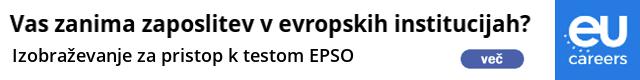 EPSO trenigi, izpiti in izobraževanja